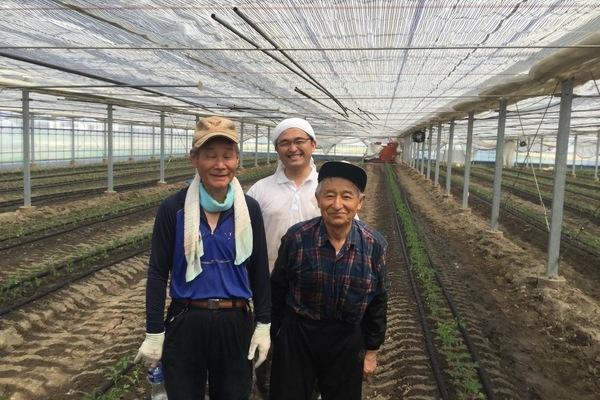 2019/08/06 深谷市Oさんトマト定植