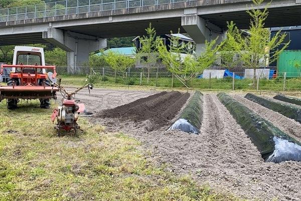 2020 04/26 楽農人宇美試験農場土作り
