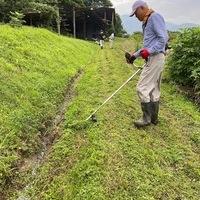 2020/07/26 筑前大分の耕作放棄地の草刈り奉仕のサムネイル