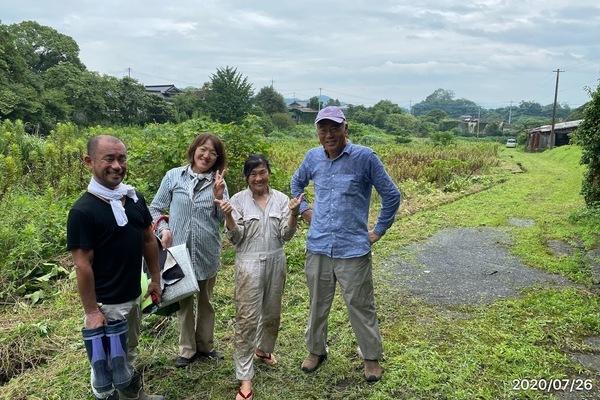 2020/07/26 筑前大分の耕作放棄地の草刈り奉仕