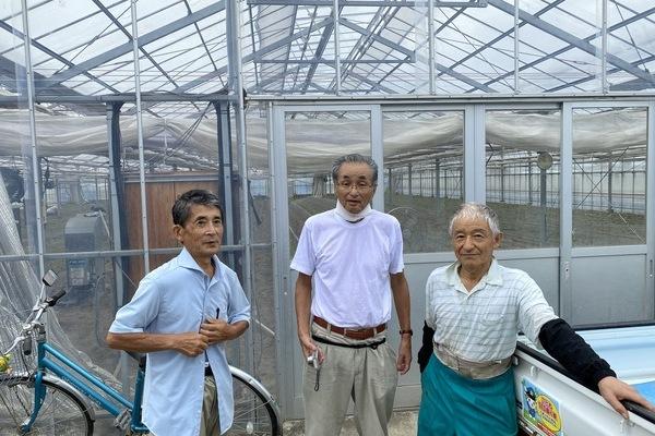2020/09/12 深谷市O農場トマト定植