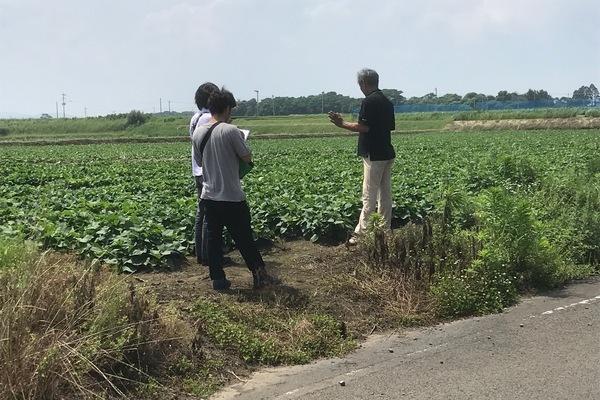 2010/06/11~12 川越から農業法人V社の大楠農園視察
